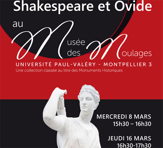 Lecture : Shakespeare et Ovide